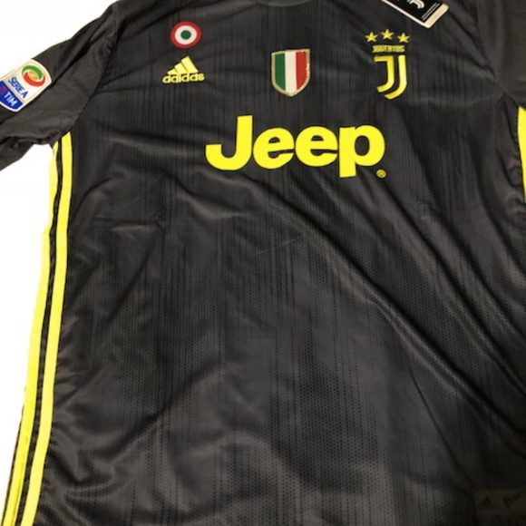 newest beda5 a42af Cristiano Ronaldo, AWAY black Jersey Juventus NWT